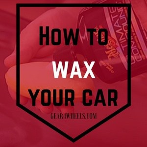 how to wax a car properly
