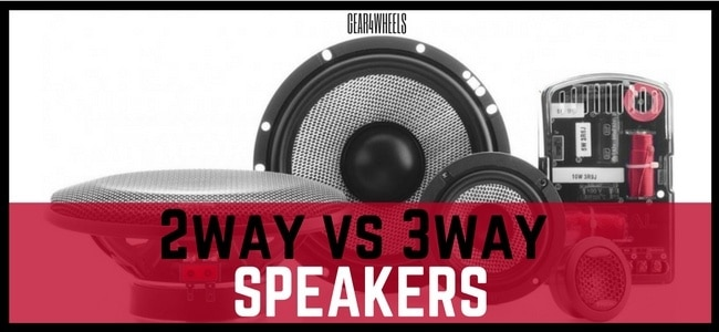 2 way VS 3 way speakers