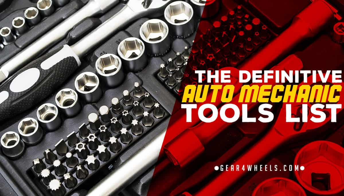 7eeebbd92bc The Definitive Auto Mechanic Tools List  With Pictures and Comments