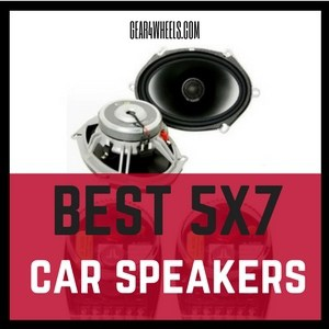 Best 5X7 car speakers 2017