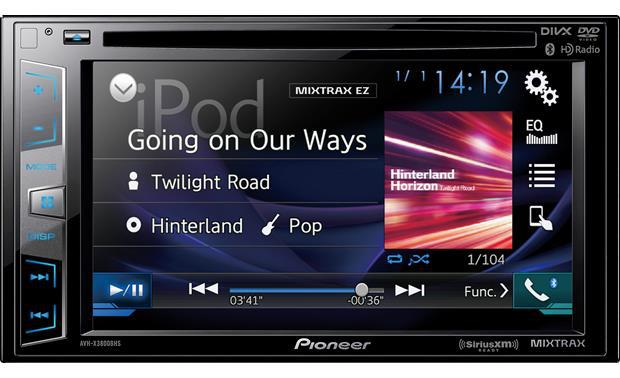 Pioneer AVH-X3800BHS review