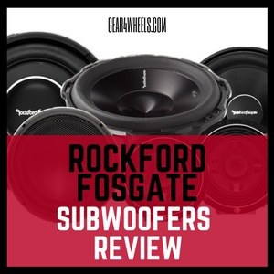 Rockford fosgate subwoofer Review