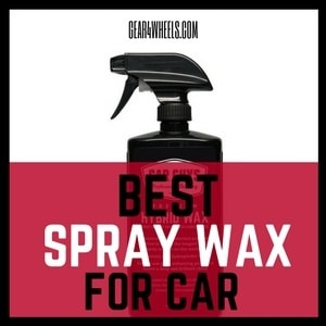 Best Spray wax for car