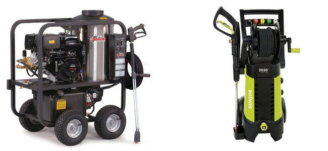 Choosing the best pressure washer