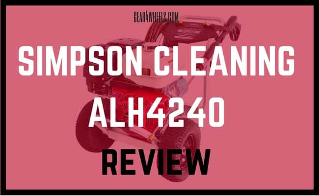 SIMPSON CLEANING ALH 4240 REVIEW