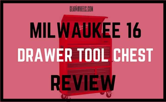 Milwaukee 16 Drawer Tool Chest REVIEW