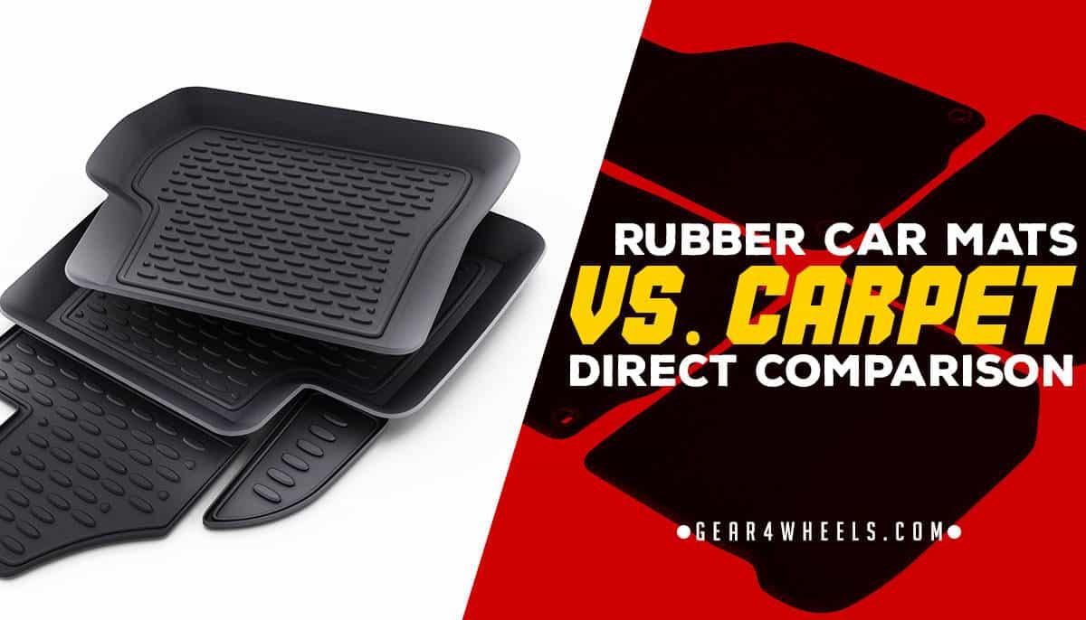 Rubber Car Mats Vs Carpet Direct