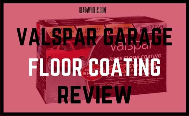 VALSPAR GARAGE FLOOR COATING REVIEW